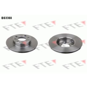 Disco de travão BS3388 FTE Pagamento seguro — apenas peças novas