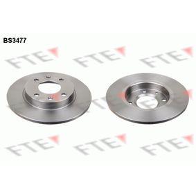 Disque de frein BS3477 FTE Paiement sécurisé — seulement des pièces neuves