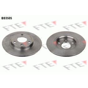 Disco de travão BS3505 FTE Pagamento seguro — apenas peças novas