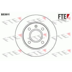 Disque de frein BS3611 FTE Paiement sécurisé — seulement des pièces neuves