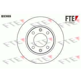 Disque de frein BS3689 FTE Paiement sécurisé — seulement des pièces neuves