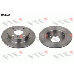 Disque de frein BS4443 FTE Paiement sécurisé — seulement des pièces neuves