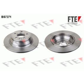 Bremsscheibe von FTE - Artikelnummer: BS7271