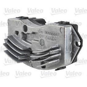köp VALEO Kontrollelement, klimatanläggning 509869 när du vill