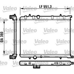 Radiateur, refroidissement du moteur 732908 VALEO Paiement sécurisé — seulement des pièces neuves
