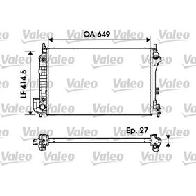 Radiatore, Raffreddamento motore VALEO 732947 comprare e sostituisci