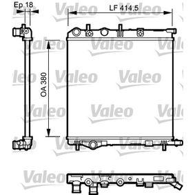 Radiateur, refroidissement du moteur 734921 VALEO Paiement sécurisé — seulement des pièces neuves