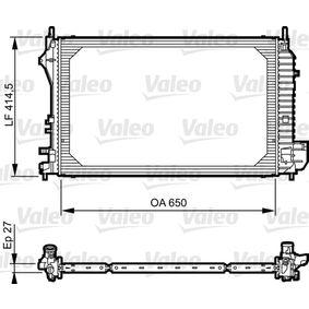 Radiatore, Raffreddamento motore VALEO 735083 comprare e sostituisci