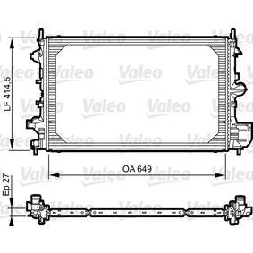 Radiatore, Raffreddamento motore VALEO 735085 comprare e sostituisci
