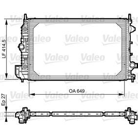 Radiatore, Raffreddamento motore VALEO 735086 comprare e sostituisci