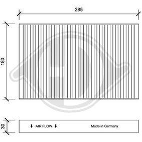 Filter, kupéventilation DCI0195 till rabatterat pris — köp nu!