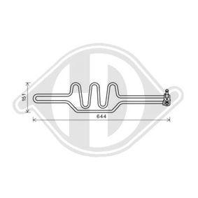 DIEDERICHS Radiatore olio, Sterzo DCO1023 acquista online 24/7