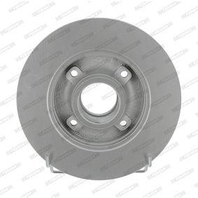 Disque de frein DDF1523C-1 FERODO Paiement sécurisé — seulement des pièces neuves