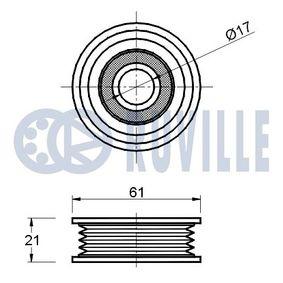 Łożysko walcowe, mocowanie amortyzatora RUVILLE 865318 kupić i wymienić