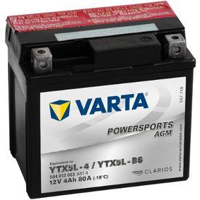 VARTA Batteria avviamento 504012003A514 acquista online 24/7