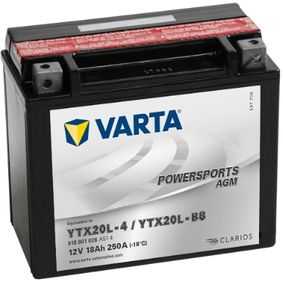 køb VARTA Starterbatteri 518901026A514 når som helst