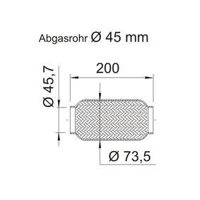 ERNST Flexrohr, Abgasanlage 460019 Günstig mit Garantie kaufen