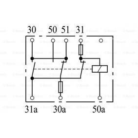 Battery Relay BOSCH — item: 0 333 300 003  Buy now!