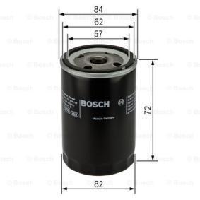 0451103316 Filtro de óleo BOSCH Enorme selecção - fortemente reduzidos