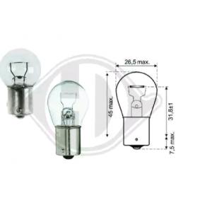 kjøpe DIEDERICHS Lyspære, blink- / sidemarkeringslys LID10045 når som helst
