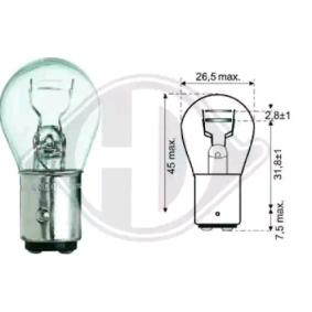 DIEDERICHS крушка с нагреваема жичка, стоп светлини / габарити LID10050 купете онлайн денонощно