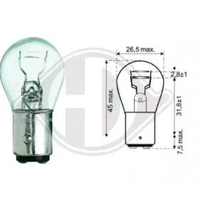 DIEDERICHS Lámpara incandescente, luz trasera / de freno LID10050 24 horas al día comprar online