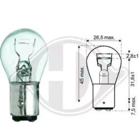 acheter DIEDERICHS Ampoule, feu stop / feu arrière LID10051 à tout moment