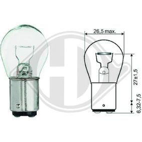 acheter DIEDERICHS Ampoule, feu clignotant / feu-position avant LID10053 à tout moment
