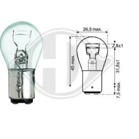 kjøpe DIEDERICHS Lyspære, blink- / sidemarkeringslys LID10056 når som helst