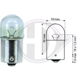 DIEDERICHS крушка с нагреваема жичка, стоп светлини LID10061 купете онлайн денонощно