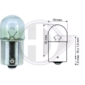 acheter DIEDERICHS Ampoule, feu stop LID10061 à tout moment