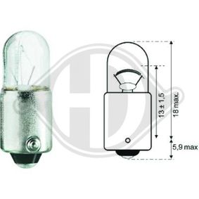 buy DIEDERICHS Bulb, door light LID10074 at any time