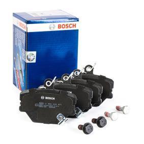 0986424471 Brake Pad Set, disc brake BOSCH - Huge selection — heavily reduced