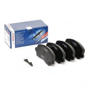 0986424716 Brake Pad Set, disc brake BOSCH - Huge selection — heavily reduced