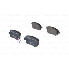 0 986 424 795 Brake Pad Set, disc brake BOSCH - Experience and discount prices