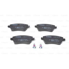 0 986 424 795 Kit de plaquettes de frein, frein à disque BOSCH - Produits de marque bon marché