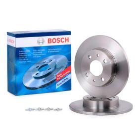 0986478342 Bremsscheibe BOSCH - Original direkt kaufen