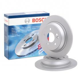 Brake Disc 0 986 479 138 with an exceptional BOSCH price-performance ratio
