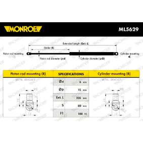 acheter MONROE Vérin, table pliante ML5629 à tout moment