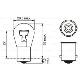 buy BOSCH Bulb, reverse light 1 987 302 214 at any time