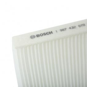 1987432072 Filtro, Aria abitacolo BOSCH - Prezzo ridotto