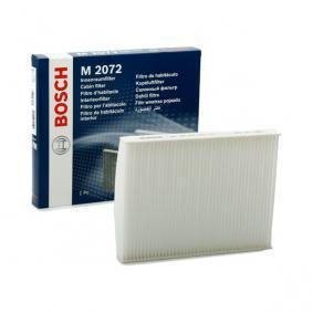 Original BOSCH Filter, kupéventilation 1 987 432 072 beställa högsta kvalitet