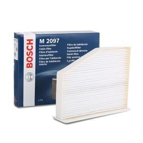 Original BOSCH Filter, kupéventilation 1 987 432 097 beställa högsta kvalitet