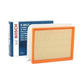 Luftfilter BOSCH F 026 400 012 günstige Verschleißteile kaufen