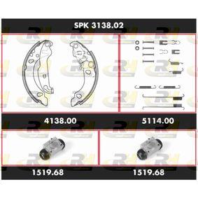 Αγοράστε ROADHOUSE Σετ φρένων, ταμπουρόφρενα SPK 3138.02 οποιαδήποτε στιγμή