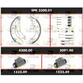 Αγοράστε ROADHOUSE Σετ φρένων, ταμπουρόφρενα SPK 3300.01 οποιαδήποτε στιγμή