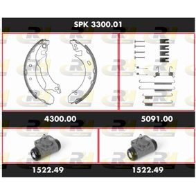 ROADHOUSE Kit freno, Freno a tamburo SPK 3300.01 acquista online 24/7
