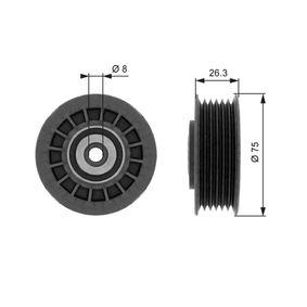 Buy GATES Deflection / Guide Pulley, v-ribbed belt T38092