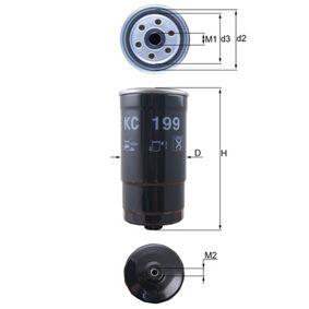 Kupte a vyměňte palivovy filtr MAHLE ORIGINAL KC 199
