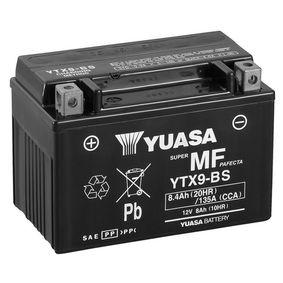 bestel op elk moment YUASA Accu / Batterij YTX9-BS